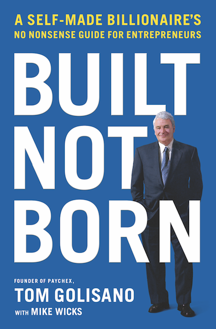 Built, Not Born Book Cover