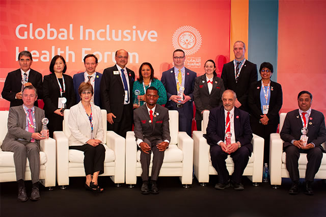 Seven Honored for Championing Global Health Work with Golisano Global Health Leadership Awards